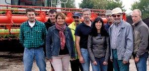 l'équipe de la Compostière de l'Aube