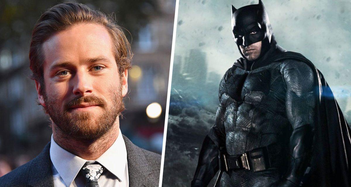 Armie Hammer niega los rumores que lo apuntan como el nuevo Batman