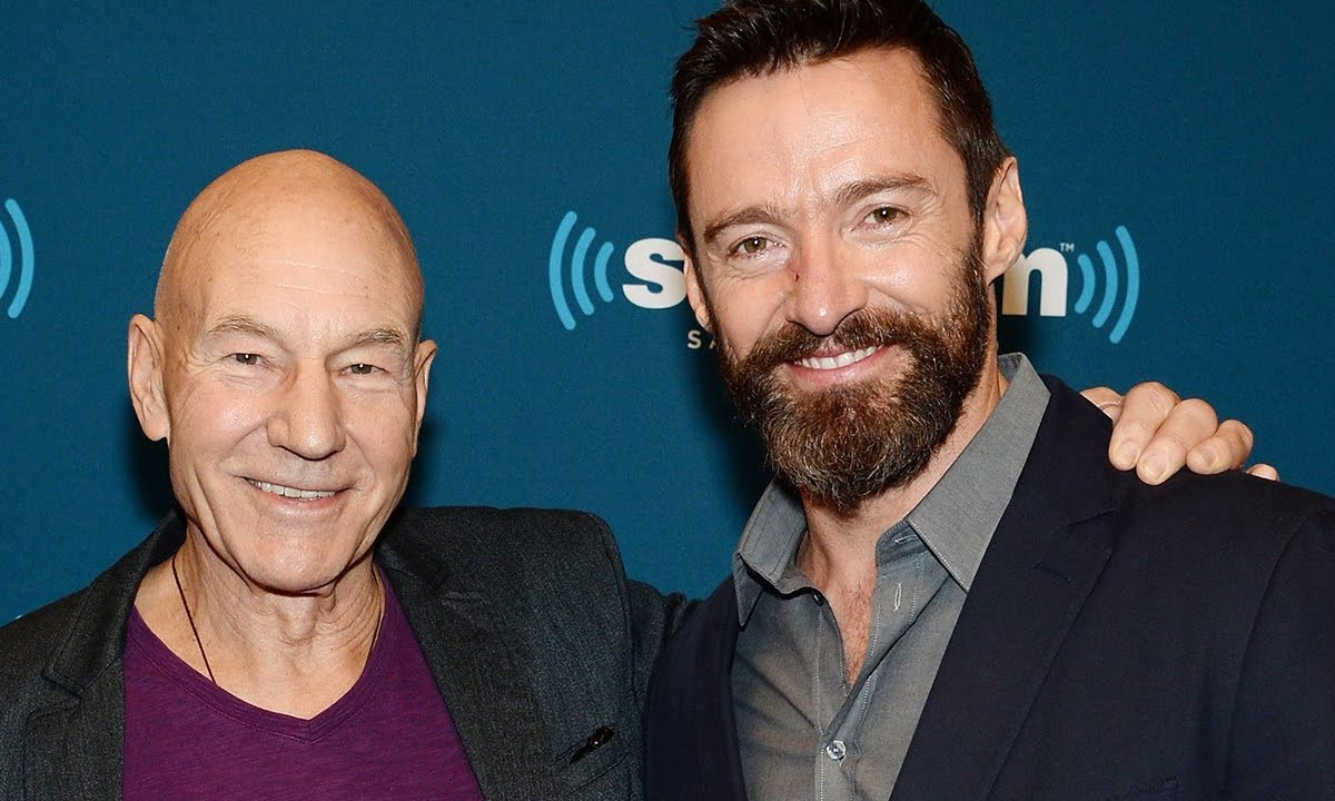 Hugh Jackman y Patrick Stewart rompen un record Guinness