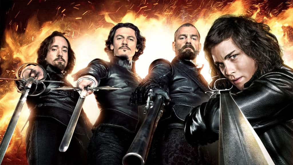 Los Tres Mosqueteros llegarán a Netflix