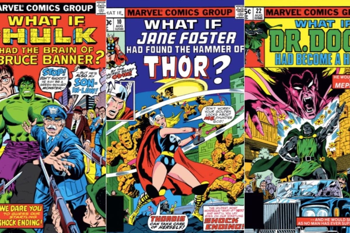 "Marvel prepara una serie de ""What If"" para Disney+"