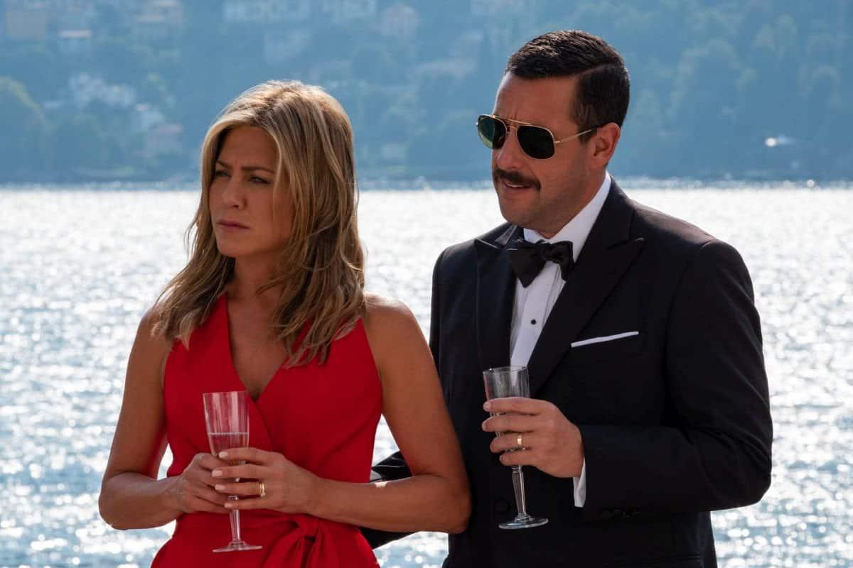 Adam Sandler y Jennifer Aniston se reúnen en imágenes de Murder Mystery