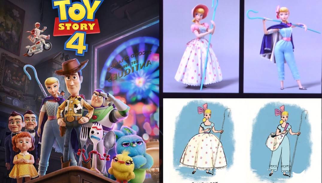 Toy Story 4: Los creadores nos hablan sobre la creación de Forky y la evolución de Bo Peep