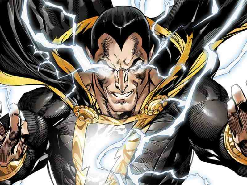 Dwayne Johnson anticipa la producción de Black Adam