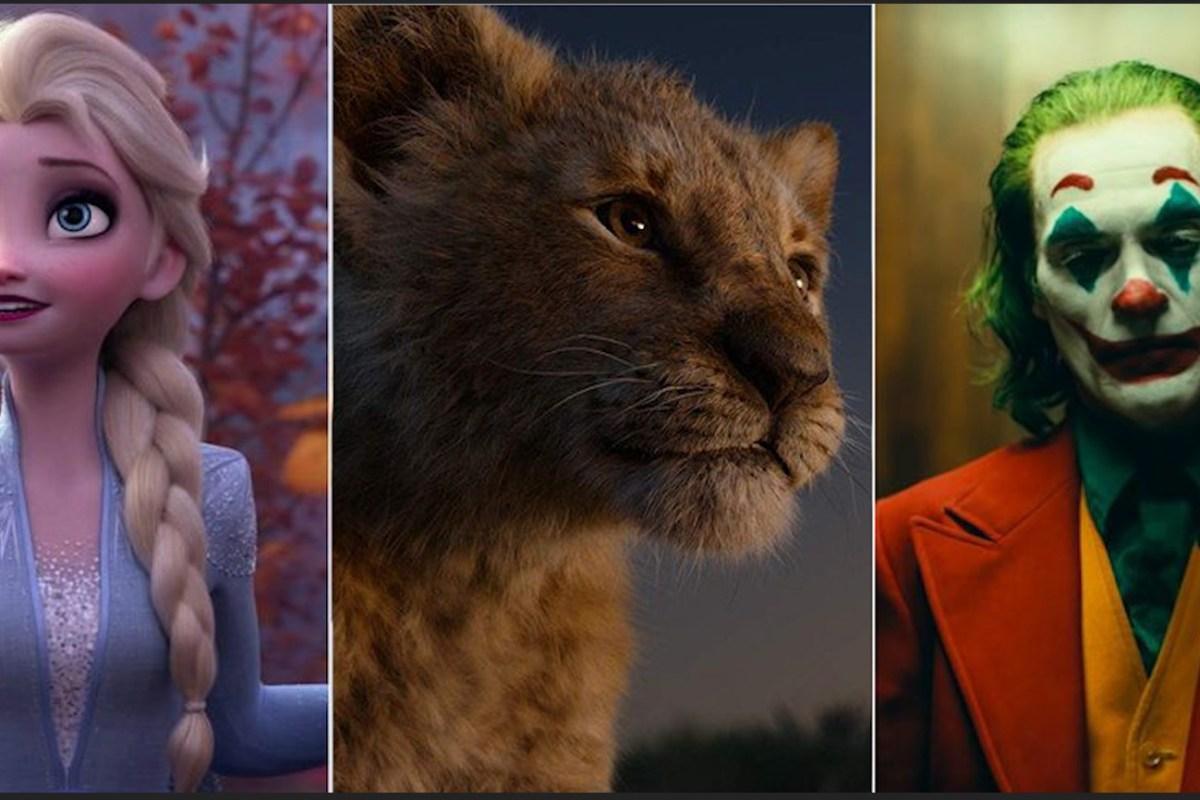 Las películas más taquilleras del 2019