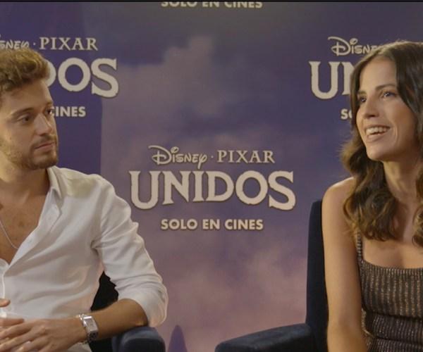 Unidos: Cande Molfese y Ruggero Pasquarelli nos hablan sobre el doblaje de sus personajes