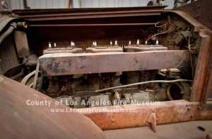 1924 American LaFrance engine