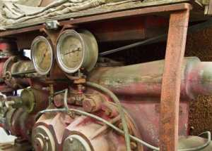 1924 American LaFrance guages