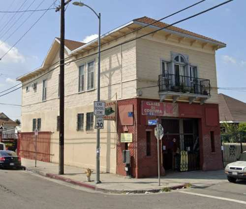 Old LA City Firehouse Number 7 today