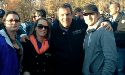 UcFit's PJ Martin and NJ Governor, Chris Christie.