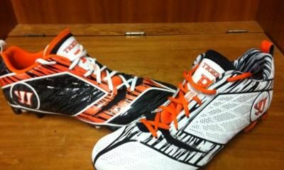Princeton Lacrosse Warrior Burn Cleats