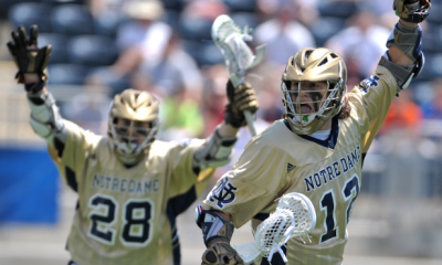 Highlights from Notre Dame's Rally to Beat Denver in OT, 13-12