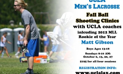 UCLA to Host Fall Shooting Clinics with MLL Star Matt Gibson