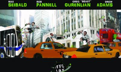 Lacrosse Superheroes Grace New York City Posters