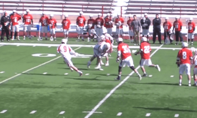 Huge Lacrosse Hit, Plus Cornell Pulled off Hidden Ball Trick Against Hobart