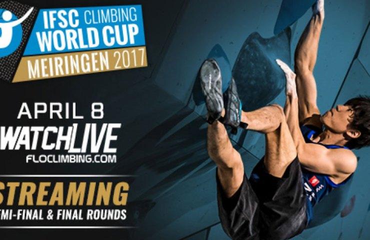 IFSC Worldcup Livestream Gebühr