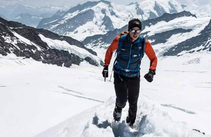Nicolas Hojac - Speed ​​record for Eiger, Mönch and Jungfrau