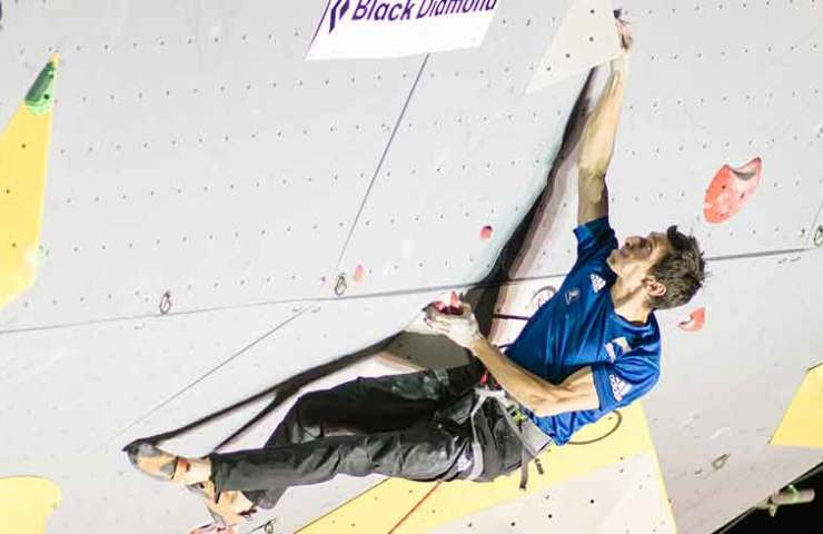 Romain Desgranges wins Lead Competition in Briancon - France