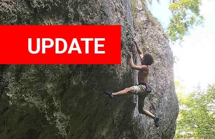 Alexander Rohr klettert Ravage in Chuenisberg