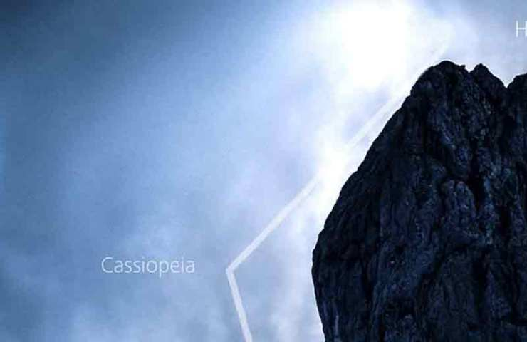Topo der MSL-Tour Cassiopeia am Hundstein im Alpstein