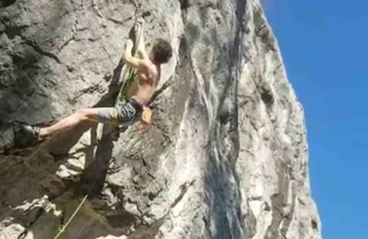 Adam Ondra on Stipvisite in Charmey - Switzerland