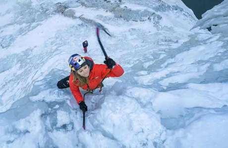 Sasha DiGiulian's Kampf mit dem Eis