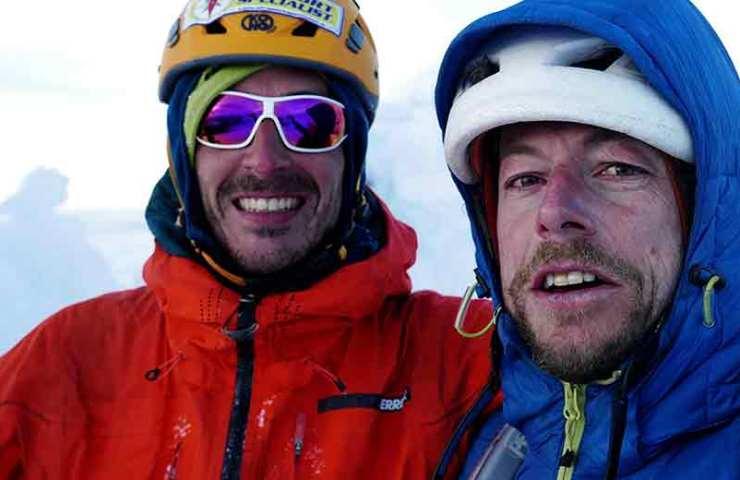 Silvan Schüpbach y Matteo Della Bordella logran su primer ascenso en la Patagonia