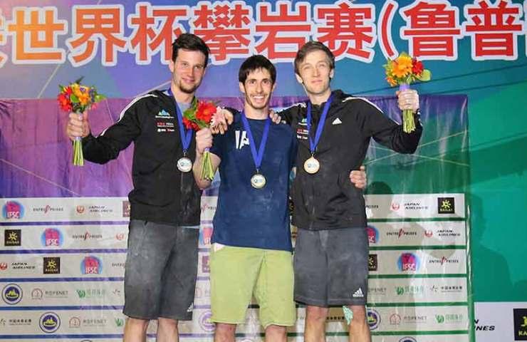 Alex Khazanov gewinnt Goldmedaille für Israel am Weltcup in Tai'an