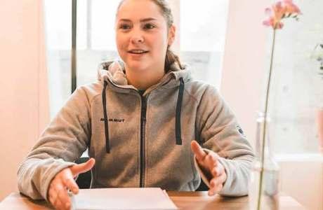 Andrea Kümin im Interview über olympische Träume und ihre sportlichen Ziele