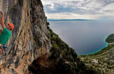 Klemen Becan befreit die schwerste Mehrseillängentour Kroatiens