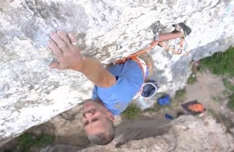 Klettert der 47-jährige Steve McClures eine 9a in sieben Tagen?