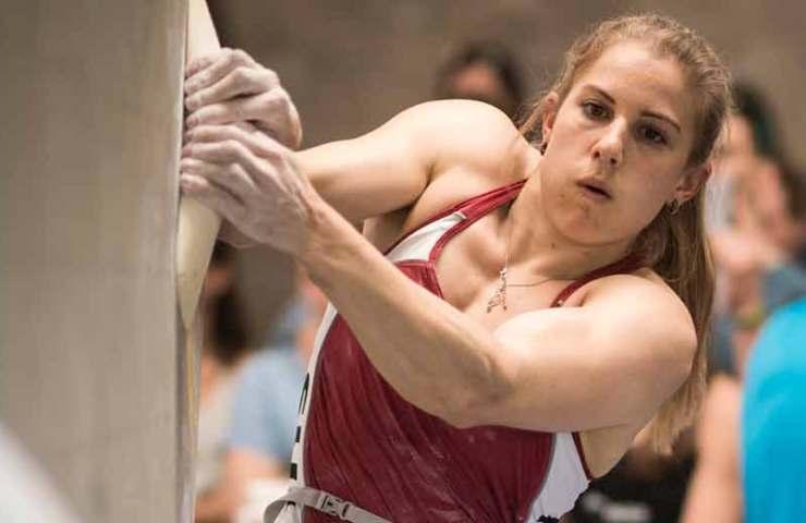 Petra Klingler und Baptiste Ometz sind Boulder-Schweizermeister 2018