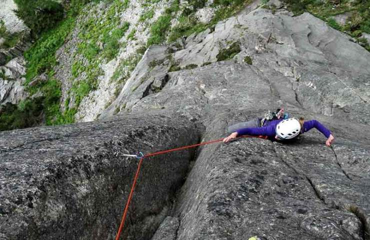 New climbing routes at the Grimsel Handegg