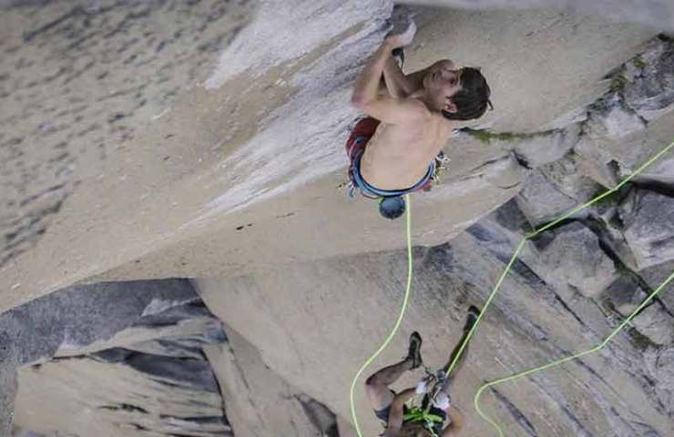 Another speed record on the nose: Alex Honnold and Tommy Caldwell