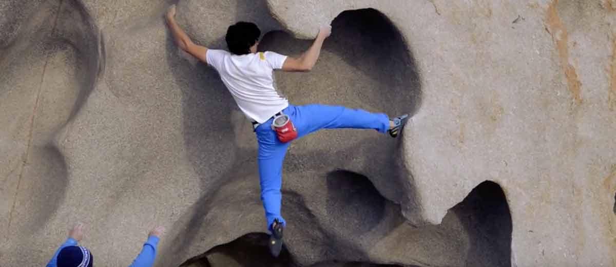 Bouldering in Sardegna - Topo libero disponibile | Rivista