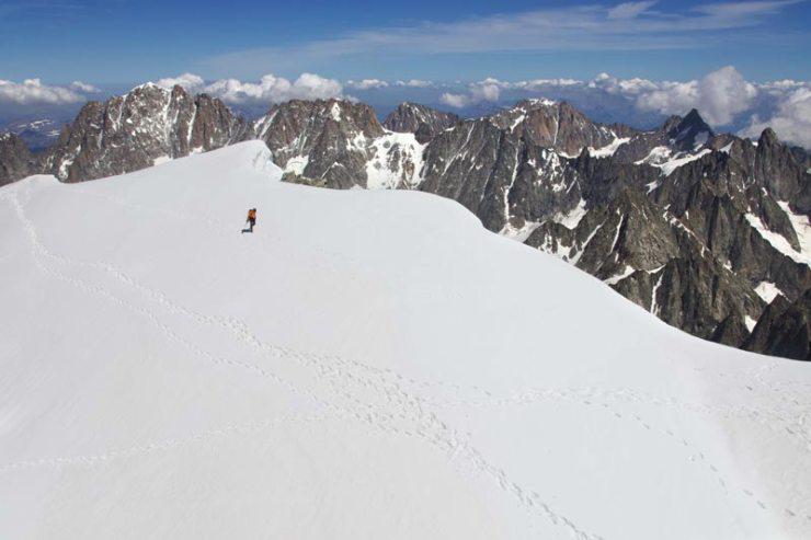 Dani Arnold hält den Rekord an zwei der drei grossen Nordwände der Alpen