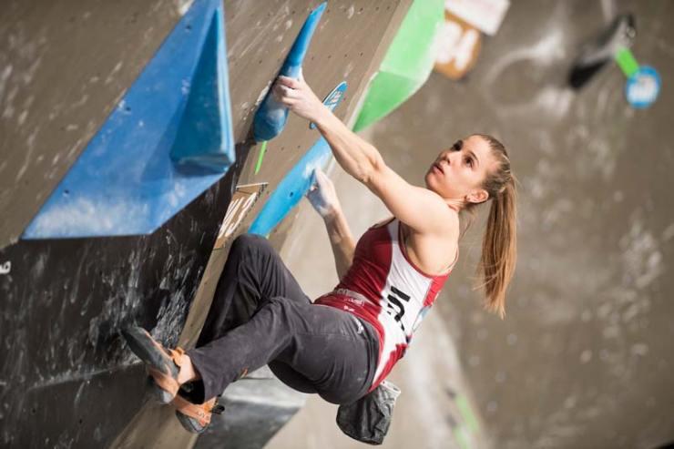 Petra Klingler vertritt die Schweiz in allen drei Disziplinen