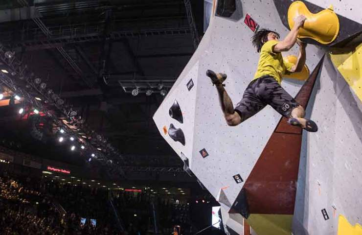 Adidas Rockstars 2018: Climbing competition with athletes from 20 nations