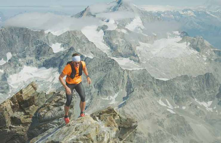 Andreas Steindl with new speed record at the Matterhorn