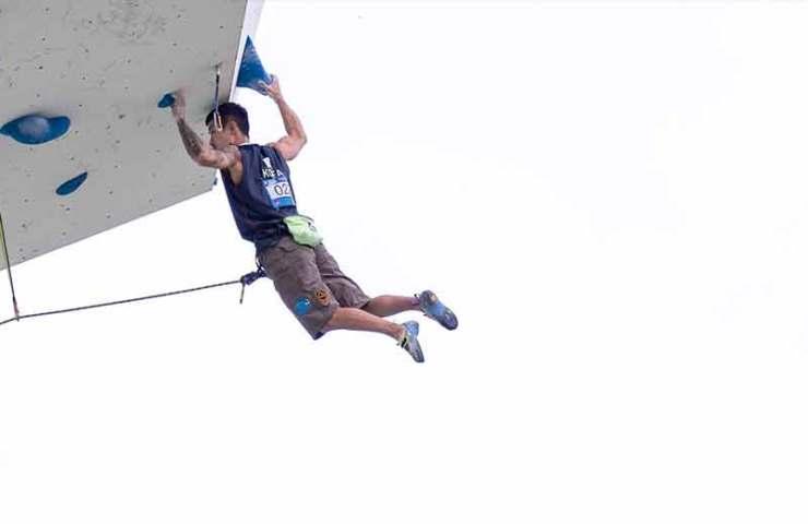 Jakob Schubert und Janja Garnbret gewinnen in Wujiang den Weltcup-Gesamtsieg