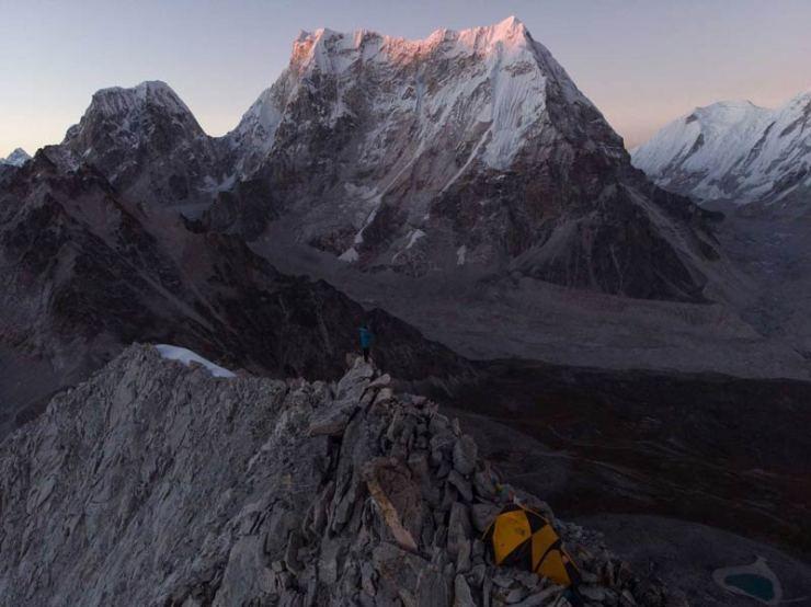 Der imposante Lunag Ri (Bild David Lama)