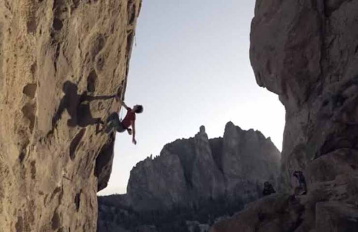 Vlog 8 - Adam Ondra versucht zwei 8b+ Routen onsight: To Bolt or Not to Be und White Wedding
