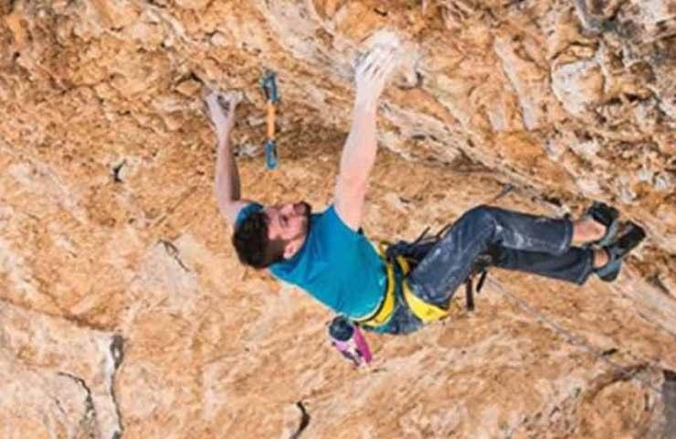 Jernej Kruder begeht die schwerste Route Kroatiens: Dugi Rat (9a+)