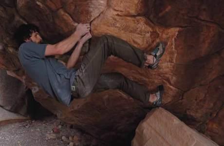 Jimmy Webb climbs the heaviest boulder in the US: Sleepwalker (8c +)