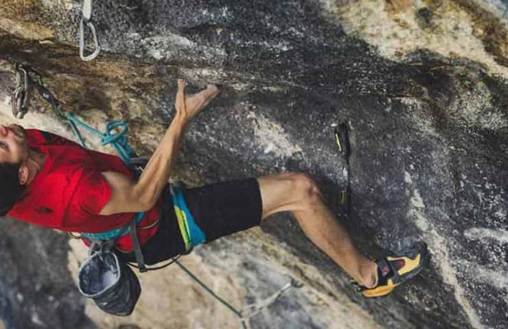 Stefano Ghisolfi climbs the hardest route in Italy: Queen Line (9b)