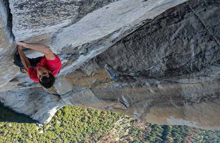 The film Free Solo with Alex Honnold comes to the Swiss cinemas