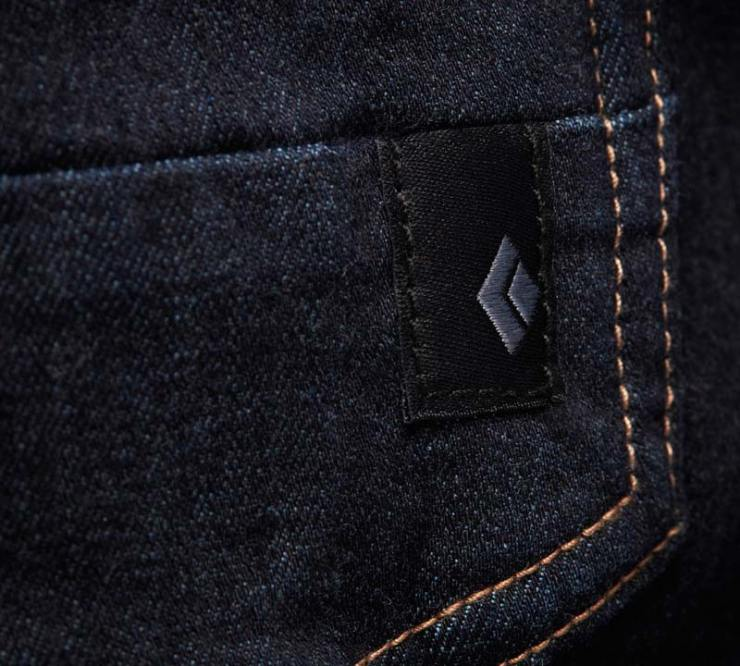 91f164f0c66d3 The climbing trousers Forged Denim by Black Diamond feels like a ...