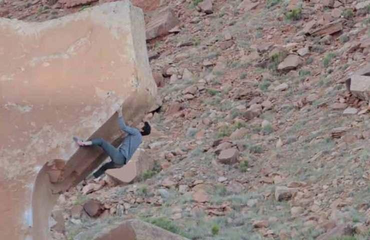 Air Wolf in Indian Creek: Schönster Boulder der Welt?
