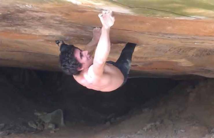 Boulder or route? Frenchman Camille Courdet commits La Force (8c +)