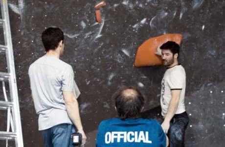 Dieses Video wirft einen Blick auf die Arbeit der Routenbauer an internationalen Wettkämpfen